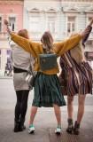 Joyful street style fashion